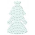 placa pegboard princesa pequeña para hama beads midi