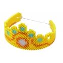 pack de inicio cuento de hadas (4000 piezas, cordón y 2 placas pegboards) hama beads midi