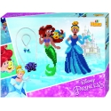 pack de inicio princesas disney (4000 piezas y 2 placas pegboards) hama beads midi