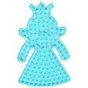 placa pegboard princesa para hama beads maxi