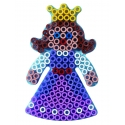 blíster 2 placas pegboards (princesa y payaso) para hama beads maxi