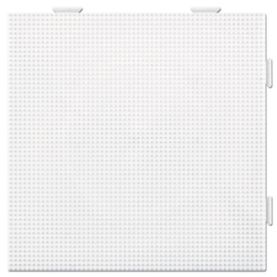 placa pegboard cuadrada de 15 x 15 cm conectable para hama beads mini
