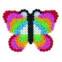 placa pegboard mariposa rosa pastel para hama beads midi