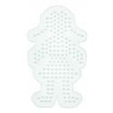 placa pegboard niña para hama beads midi