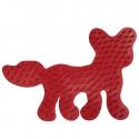 placa pegboard zorro rojo para hama beads midi