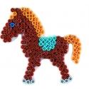 placa pegboard poni lila para hama beads midi