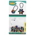 blister bicolor estrella (350 piezas y 1 placa pegboard) hama beads midi