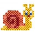 pack de inicio (600 piezas, 4 soportes y 1 placa pegboard) hama beads maxi