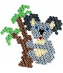 pack de inicio gigante azul (7200 piezas, 6 soportes, organizador, 2 placas pegboards y 2 accesorios de presión) hama beads midi
