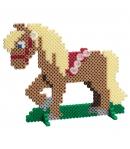 pack de inicio escuela de equitación (4000 piezas, 4 soportes y 2 placa pegboard) hama beads midi