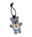 pack de inicio pequeño mundo accesorios de moda (2000 pieza, cuerda, 2 gemas y 1 placa pegboard) hama beads midi