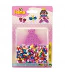 blister princesa pequeña (450 piezas y 1 placa pegboard) hama beads midi