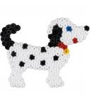 blister perro pequeño (450 piezas y 1 placa pegboard) hama beads midi
