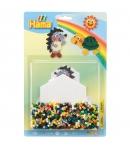 blister hexagonal mediana (1100 piezas y 1 placa pegboard) hama beads midi
