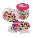 pack de inicio (400 piezas y 2 placas pegboards) hama beads maxi