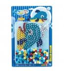 pack blister ballena (250 piezas  y placa pegboard) hama beads maxi