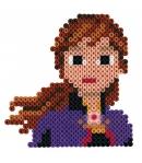 pack de inicio disney frozen II pequeño (2000 piezas y 1 placa pegboard) hama beads midi