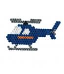 pack de inicio aeropuerto (2000 piezas, 4 soportes de pie y placa pegboard) hama beads midi