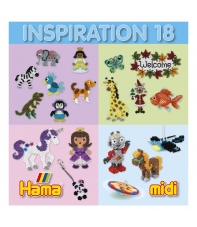cuaderno diseños hama beads midi inspiration 18, 63 páginas