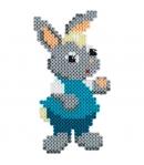 pack de inicio feria (4000 piezas y 2 placas pegboards) hama beads midi