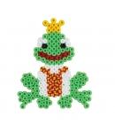 blister bicolor caballito de rana (350 piezas y 1 placa pegboard) hama beads midi