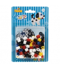 pack blister perrito (100 piezas y placa pegboard) hama beads maxi