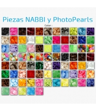 Piezas NABBI y PhotoPearls