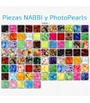 Piezas NABBI y PhotoPearls