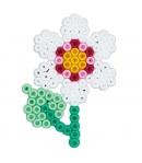pack de inicio 15000 piezas y 3 placas pegboards hama beads midi