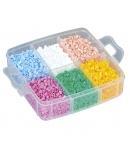 pack de almacenamiento (6000 piezas, 3 placas pegboards y caja de almacenamiento)