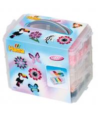 pack de almacenamiento (12000 piezas, 3 placas pegboards y caja de almacenamiento)
