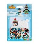 blister pingüino (450 piezas y 1 placa pegboard) hama beads midi