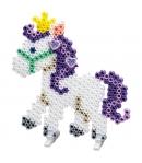 pack de inicio lapicero poni (2000 piezas, placa pegboard, 4 soportes y gemas) hama beads midi