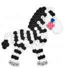 pack de inicio Arca de Noé (5000 piezas, conectores y 5 placas pegboards) hama beads midi