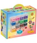 pack organizador y 16000 piezas hama beads midi
