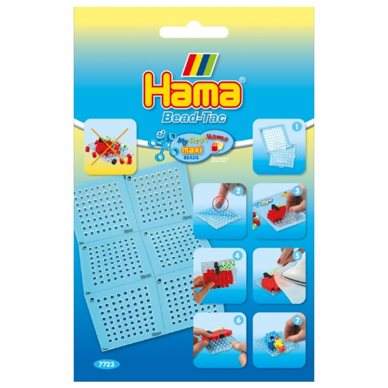 bead-tac hama beads maxi cuadrada pequeña