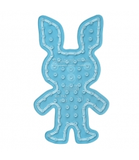 placa pegboard conejo para hama beads maxi