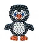 placa pegboard pingüino para hama beads maxi